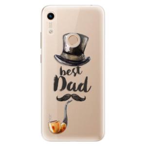 Silikonové odolné pouzdro iSaprio Best Dad na mobil Honor 8A