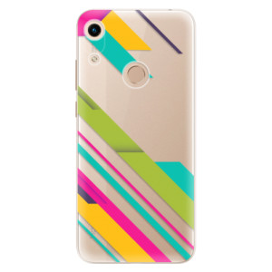 Silikonové odolné pouzdro iSaprio Color Stripes 03 na mobil Honor 8A