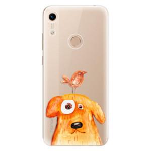 Silikonové odolné pouzdro iSaprio Dog And Bird na mobil Honor 8A