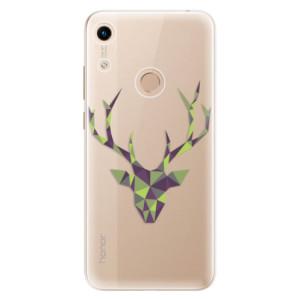 Silikonové odolné pouzdro iSaprio Deer Green na mobil Honor 8A