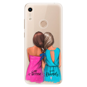 Silikonové odolné pouzdro iSaprio Best Friends na mobil Honor 8A