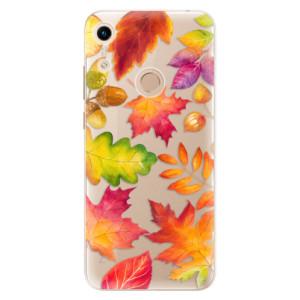 Silikonové odolné pouzdro iSaprio Autumn Leaves 01 na mobil Honor 8A