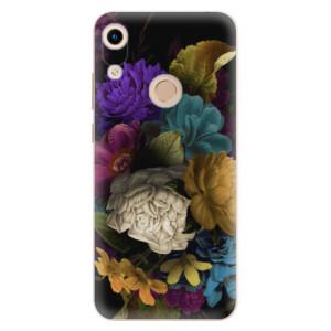 Silikonové odolné pouzdro iSaprio Dark Flowers na mobil Honor 8A