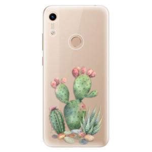 Silikonové odolné pouzdro iSaprio Cacti 01 na mobil Honor 8A
