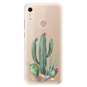 Silikonové odolné pouzdro iSaprio Cacti 02 na mobil Honor 8A