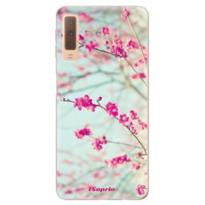 Silikonové odolné pouzdro iSaprio Blossom 01 na mobil Samsung Galaxy A7 (2018)