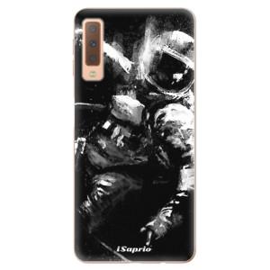 Silikonové odolné pouzdro iSaprio Astronaut 02 na mobil Samsung Galaxy A7 (2018)