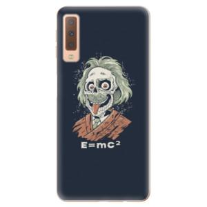 Silikonové odolné pouzdro iSaprio Einstein 01 na mobil Samsung Galaxy A7 (2018)