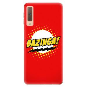 Silikonové odolné pouzdro iSaprio Bazinga 01 na mobil Samsung Galaxy A7 (2018)