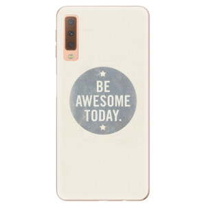 Silikonové odolné pouzdro iSaprio Awesome 02 na mobil Samsung Galaxy A7 (2018)