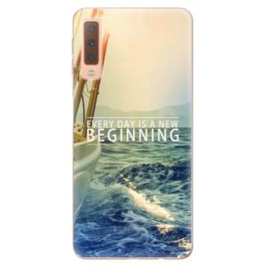 Silikonové odolné pouzdro iSaprio Beginning na mobil Samsung Galaxy A7 (2018)
