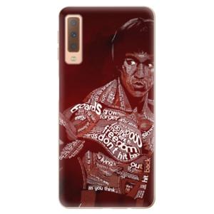 Silikonové odolné pouzdro iSaprio Bruce Lee na mobil Samsung Galaxy A7 (2018)