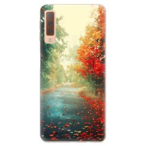 Silikonové odolné pouzdro iSaprio Autumn 03 na mobil Samsung Galaxy A7 (2018)