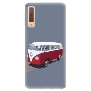 Silikonové odolné pouzdro iSaprio VW Bus na mobil Samsung Galaxy A7 (2018)