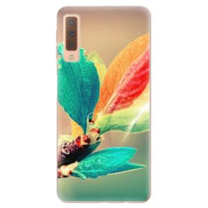 Silikonové odolné pouzdro iSaprio Autumn 02 na mobil Samsung Galaxy A7 (2018)