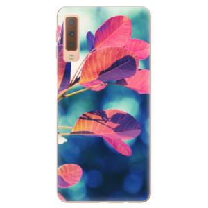 Silikonové odolné pouzdro iSaprio Autumn 01 na mobil Samsung Galaxy A7 (2018)