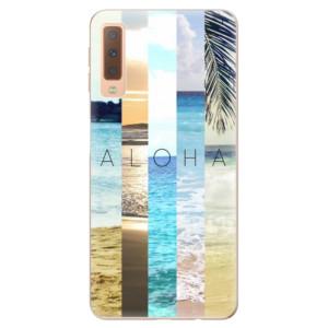 Silikonové odolné pouzdro iSaprio Aloha 02 na mobil Samsung Galaxy A7 (2018)