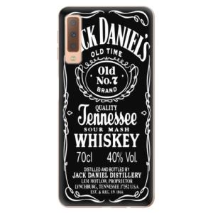Silikonové odolné pouzdro iSaprio Jack Daniels na mobil Samsung Galaxy A7 (2018)