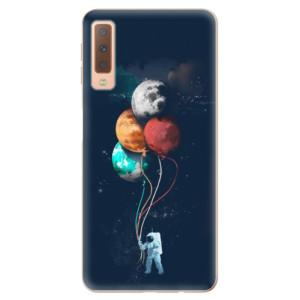 Silikonové odolné pouzdro iSaprio Balloons 02 na mobil Samsung Galaxy A7 (2018)