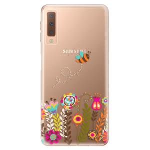 Silikonové odolné pouzdro iSaprio Bee 01 na mobil Samsung Galaxy A7 (2018)
