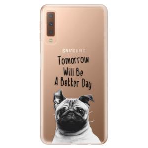 Silikonové odolné pouzdro iSaprio Better Day 01 na mobil Samsung Galaxy A7 (2018)