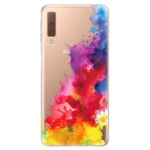 Silikonové odolné pouzdro iSaprio Color Splash 01 na mobil Samsung Galaxy A7 (2018)