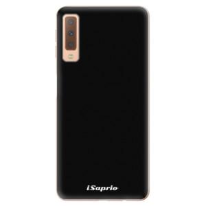 Silikonové odolné pouzdro iSaprio 4Pure černé na mobil Samsung Galaxy A7 (2018)