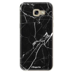 Silikonové odolné pouzdro iSaprio Black Marble 18 na mobil Samsung Galaxy A5 2017