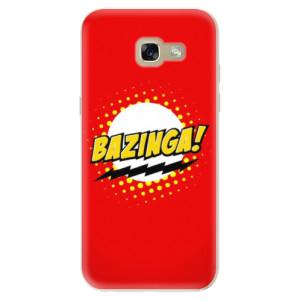 Silikonové odolné pouzdro iSaprio Bazinga 01 na mobil Samsung Galaxy A5 2017
