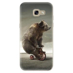 Silikonové odolné pouzdro iSaprio Bear 01 na mobil Samsung Galaxy A5 2017