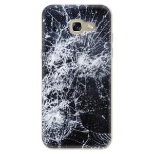 Silikonové odolné pouzdro iSaprio Cracked na mobil Samsung Galaxy A5 2017