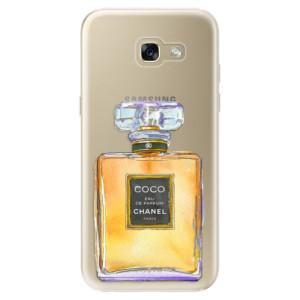 Silikonové odolné pouzdro iSaprio Chanel Gold na mobil Samsung Galaxy A5 2017