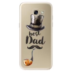 Silikonové odolné pouzdro iSaprio Best Dad na mobil Samsung Galaxy A5 2017