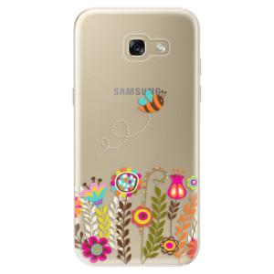 Silikonové odolné pouzdro iSaprio Bee 01 na mobil Samsung Galaxy A5 2017
