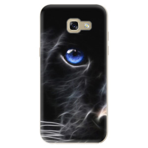 Silikonové odolné pouzdro iSaprio Black Puma na mobil Samsung Galaxy A5 2017
