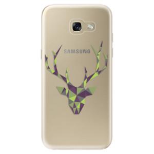 Silikonové odolné pouzdro iSaprio Deer Green na mobil Samsung Galaxy A5 2017