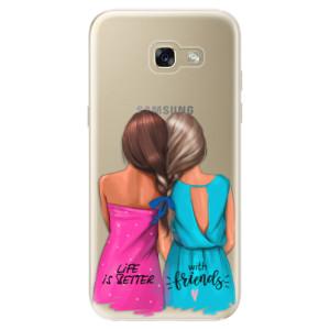 Silikonové odolné pouzdro iSaprio Best Friends na mobil Samsung Galaxy A5 2017