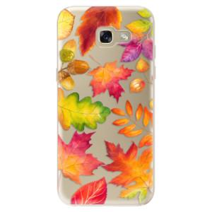 Silikonové odolné pouzdro iSaprio Autumn Leaves 01 na mobil Samsung Galaxy A5 2017