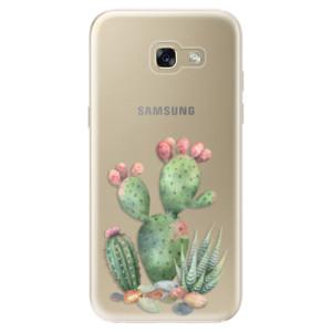 Silikonové odolné pouzdro iSaprio Cacti 01 na mobil Samsung Galaxy A5 2017