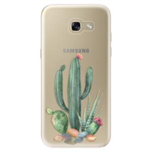 Silikonové odolné pouzdro iSaprio Cacti 02 na mobil Samsung Galaxy A5 2017