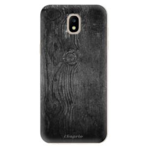 Silikonové odolné pouzdro iSaprio Black Wood 13 na mobil Samsung Galaxy J5 2017