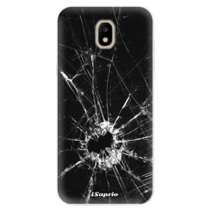 Silikonové odolné pouzdro iSaprio Broken Glass 10 na mobil Samsung Galaxy J5 2017
