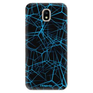 Silikonové odolné pouzdro iSaprio Abstract Outlines 12 na mobil Samsung Galaxy J5 2017
