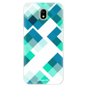 Silikonové odolné pouzdro iSaprio Abstract Squares 11 na mobil Samsung Galaxy J5 2017