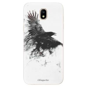 Silikonové odolné pouzdro iSaprio Dark Bird 01 na mobil Samsung Galaxy J5 2017