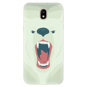 Silikonové odolné pouzdro iSaprio Angry Bear na mobil Samsung Galaxy J5 2017