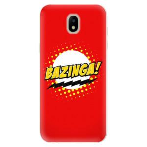 Silikonové odolné pouzdro iSaprio Bazinga 01 na mobil Samsung Galaxy J5 2017