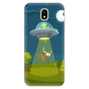 Silikonové odolné pouzdro iSaprio Alien 01 na mobil Samsung Galaxy J5 2017