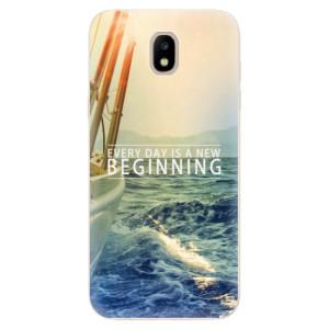 Silikonové odolné pouzdro iSaprio Beginning na mobil Samsung Galaxy J5 2017