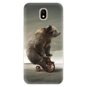 Silikonové odolné pouzdro iSaprio Bear 01 na mobil Samsung Galaxy J5 2017